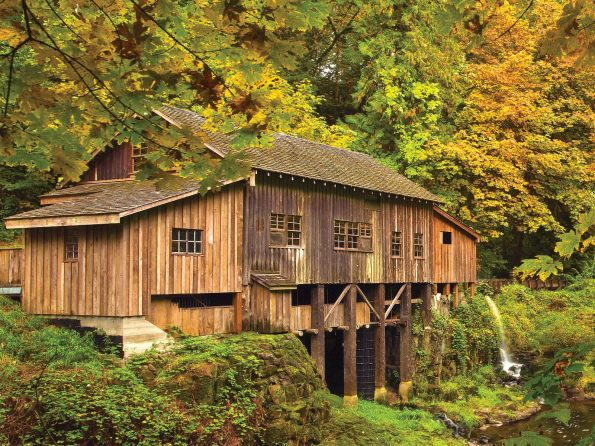 Cedar Creek Grist Mill, Vancouver, Washington