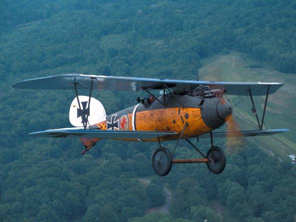 Old Rhinebeck Aerodrome Albatros DVa