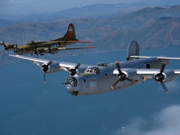 Smooth Sky, B24 and B17