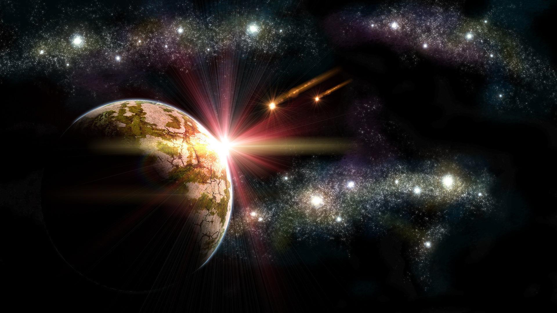 Камни на фоне звезд млечного пути загрузить